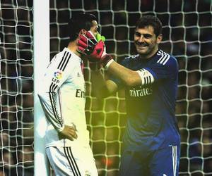 real madrid, cristiano ronaldo, and iker casillas image