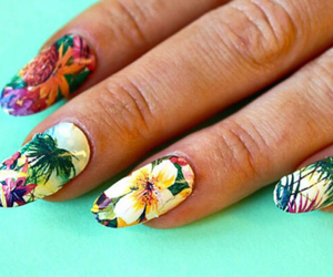 acrylics, fashion, and nail polish image