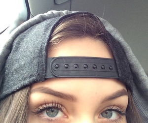 girl, eyes, and tumblr image