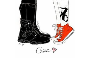 shoes, clace, and love image