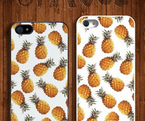 cases, pineapple, and whirte image