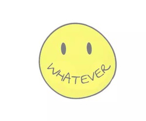 whatever, wallpaper, and smile image