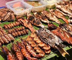 exotic, food, and sea image
