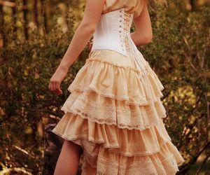 beautiful, sexy, and corset image