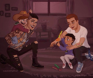 drawing, zayn malik, and ziam image