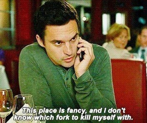 new girl, fancy, and funny image