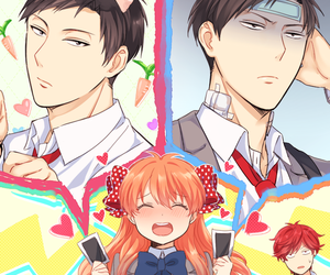 gekkan shoujo nozaki-kun and anime image