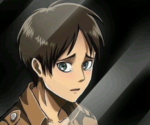 anime, attack on titan, and eren image