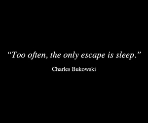 sleep, quotes, and escape image
