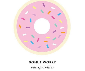 donut, girly, and inspiration image