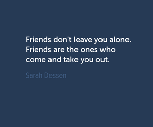 quote, alone, and book image