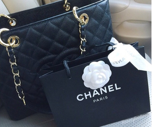 chanel, chanel purse, and love chanel image