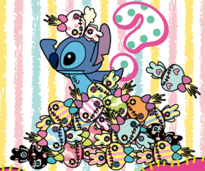stitch, cute, and cartoon image