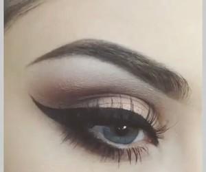 eye, makeup, and maquillaje image