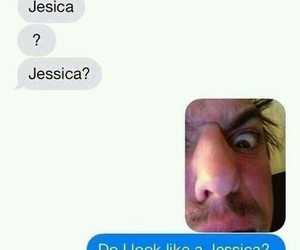 funny, text, and jessica image