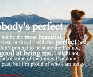 quote, perfect, and life image