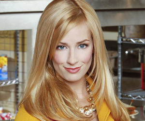 series, beth behrs, and 2 broke girls image