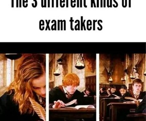 exam, harry potter, and kinds image