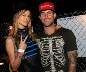 Behati Prinsloo, coachella, and adam levine image