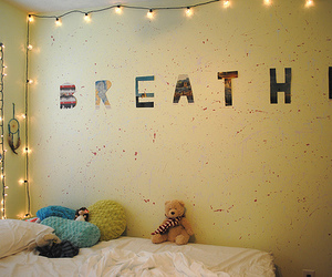 photography, breathe, and wall image