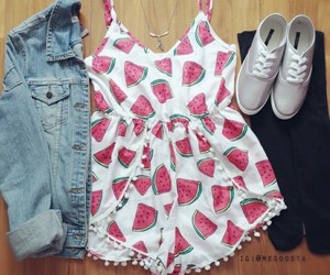 fruit, girly, and outfits image