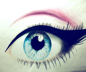 eye drawing and vale_peter image