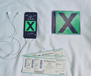 ed sheeran, x, and music image