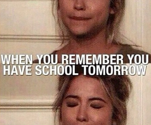 school, tomorrow, and pll image