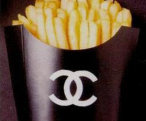 black, chanel, and French Fries image
