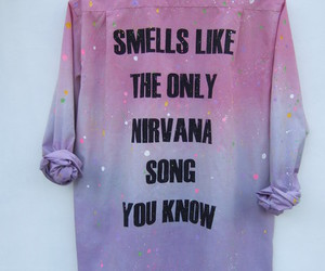 nirvana, grunge, and smells like teen spirit image