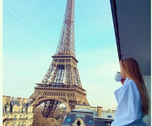 paris, france, and morning image
