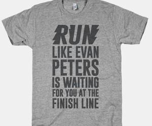 run, evan peters, and ahs image
