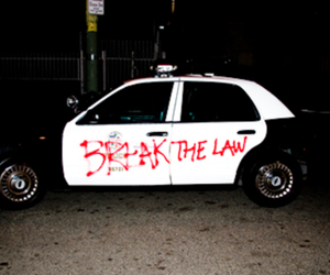 police, grunge, and Law image