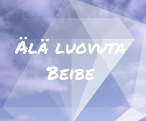 ala, luovuta, and tekstit image