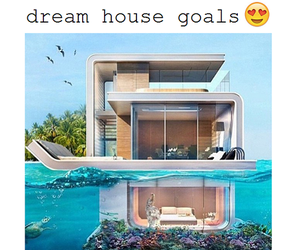 goals, house, and Dream image