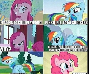 MLP, snikers, and pinkie image