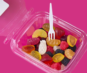 food, fruit, and candy image