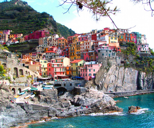 italy, sea, and house image