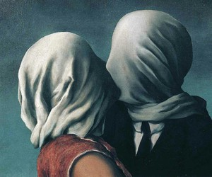 art, rene magritte, and kiss image