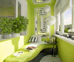 decor, green, and house image