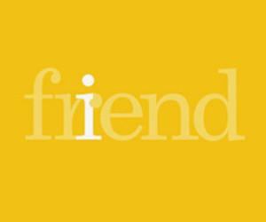 friend, hug, and yellow image