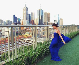 blue, anne curtis, and fashion image