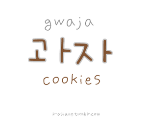 Cookies and korean image
