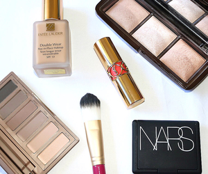 beauty, estee lauder, and hourglass image