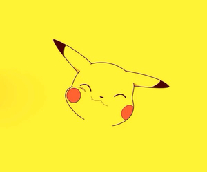 pokemon, yellow, and pikachu image