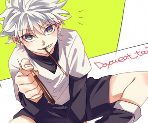 hunter x hunter and killua image