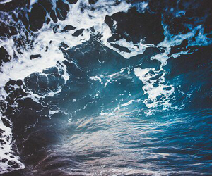 water, beach, and blue image