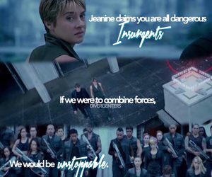 insurgent and divergent image