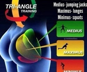 butt, gluteus maximus, and triangle training image