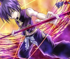 anime, warrior, and anime boy image